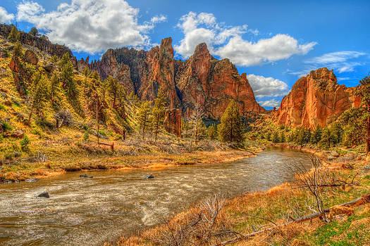 Smith Rock Canyon by Amber Schenk