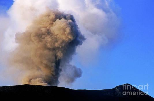 Sami Sarkis - Smoke coming from Yasur Volcano