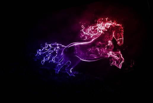 Smoke Horse by Sherry Fain
