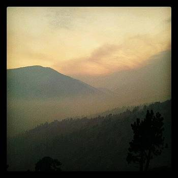 Smoke Sitting In The Valleys by HK Moore