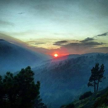 Smokey Sunset by HK Moore