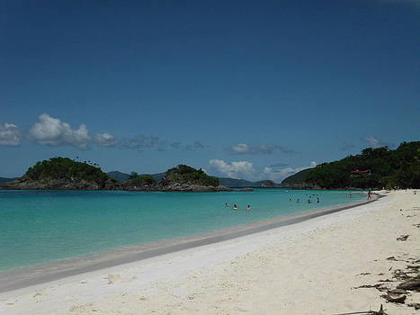 Snorkeling at Trunk Bay by Eve Ustas