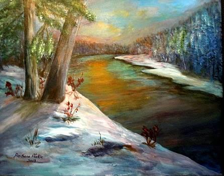Snow at Sunrise by Barbara Pirkle