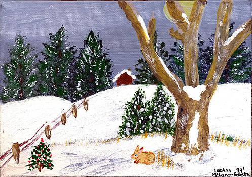 LeeAnn McLaneGoetz McLaneGoetzStudioLLCcom - Snow Bunny