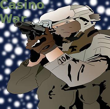 Snow Clad Soldier by Casino Artist
