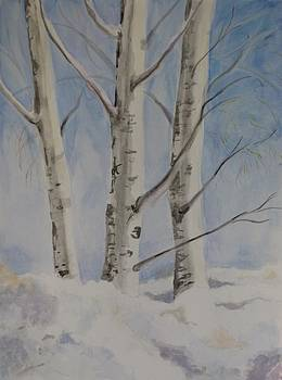 Snow Dancers Three by Vera Rodgers