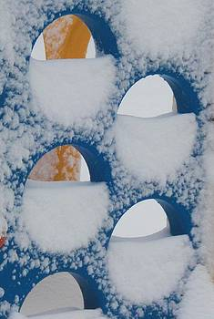 Snow fort by Vicky Mowrer