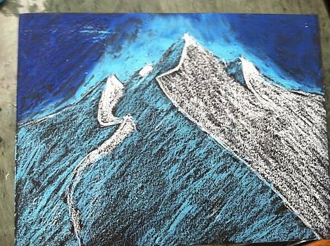 Snow Mountains  by David Stich
