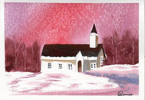 Snow Red by Wendy Cunico