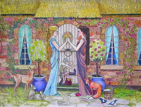 Snow White and Rose Red by Robin Birrell