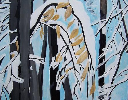 Snowfall by Krista Ouellette