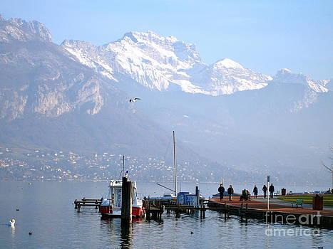 Danielle Groenen - Snowy Alps