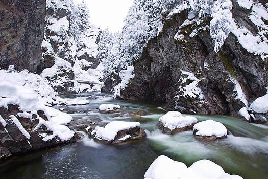 Snowy Creek by Brandon Broderick