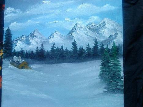 Snowy Mountains by Madiha Sumbal