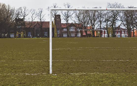 Kantilal Patel - Soccer Goalie View