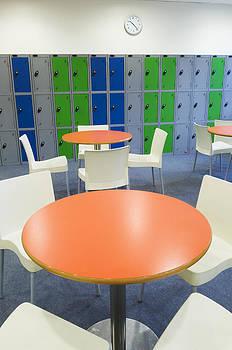 Social Area Of A Modern Secondary by Iain  Sarjeant