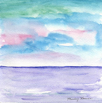 Soft Seascape by Mickey Krause