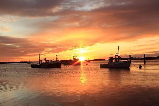 Soft Sunrise At Ellis by Jeremy McKay