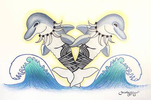Soga'imiti Dolphins by Kristy Mao