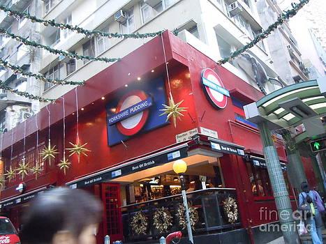 Soho Escalator by Lam Lam