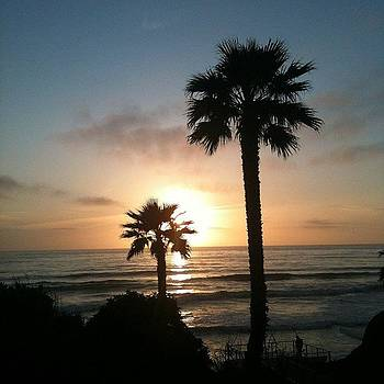 Solana Beach Sunset by Rita Spiegel