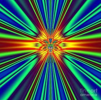 Solar Sun Flare 2012 by Deborah Juodaitis