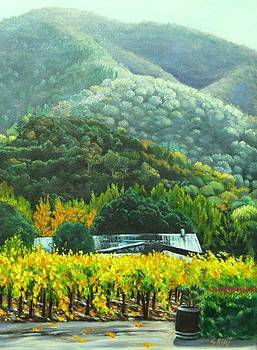 Solis Winery in the Fall by Lorna Saiki