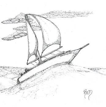 Solitude - Sketch by Robert Meszaros