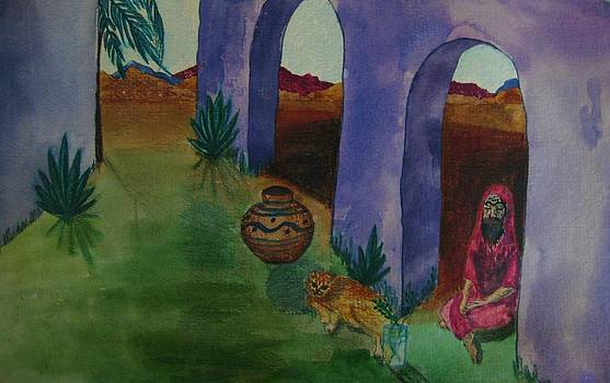 Judy Via-Wolff - Solitude in the Desert