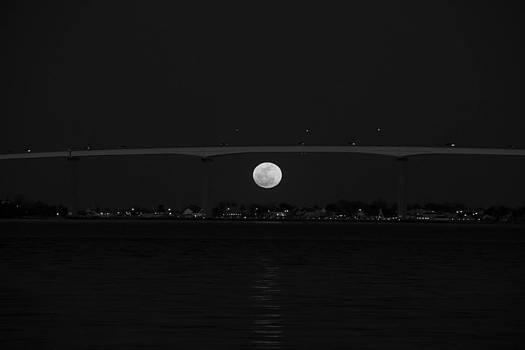 Solomon Islands Full Moon by Glenn Lawrence
