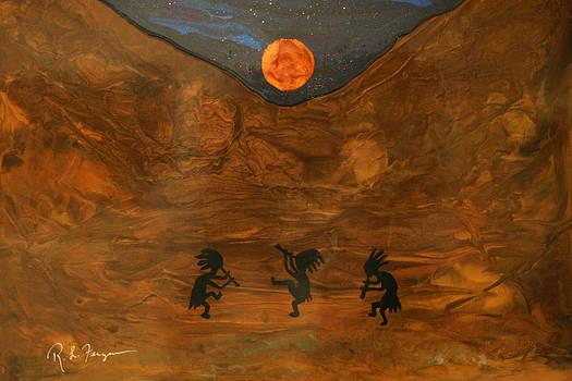 Solstice Dancers by Roger Ferguson
