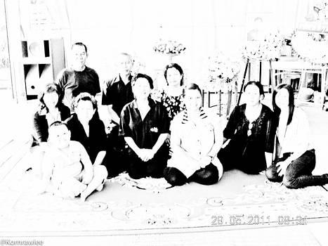 Someone left a family behind by Kornrawiee Miu Miu