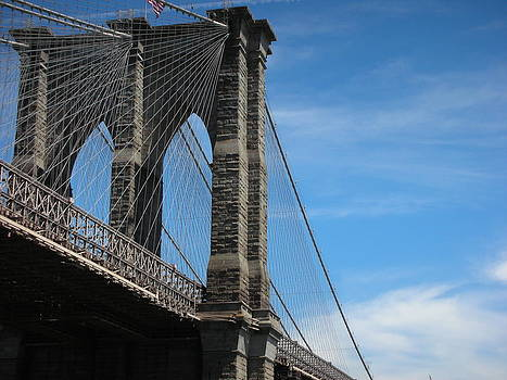 Somewhere Under the Brooklyn Bridge by Kelsey Horne