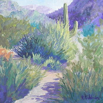 Sonoran Desert Preserve by Rita Goldner