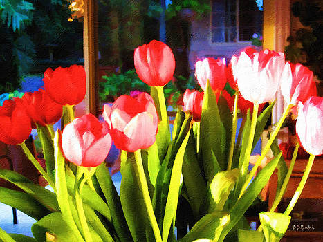 Souha's Tulips by Brian D Meredith