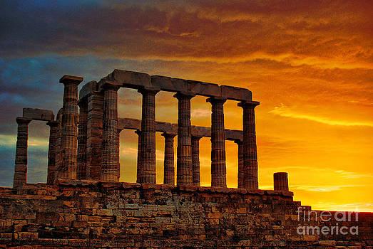 Sounio - Greece by Hristo Hristov