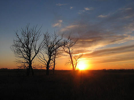 South Dakota Sunset by James Hammen