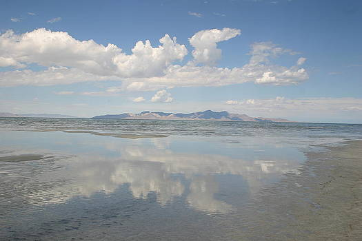 South Shore of the Salt Lake 2 by L J Penrod
