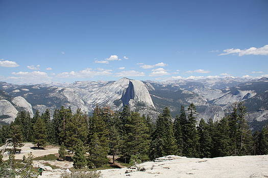 South view of Half Dome  by Michael Picco
