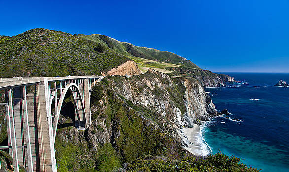 Southbound California Highway1 by Jim Ross
