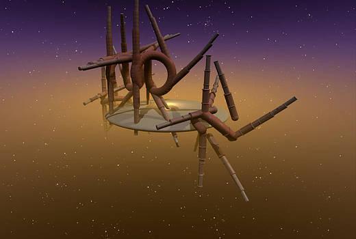 Space Junk by Virginia Dillman