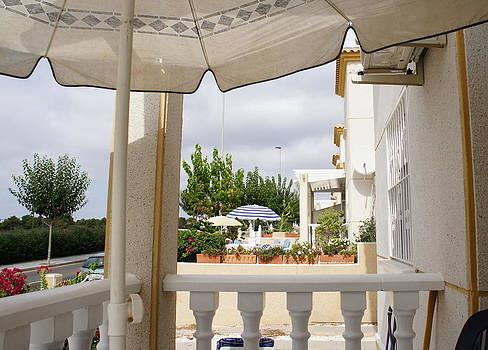 Spanish Veranda by Jacqui Kilcoyne