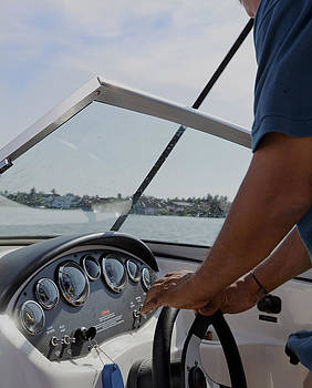 Kantilal Patel - Speedboat Man at Helm