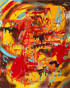 Spicy Fire by Artista Elisabet