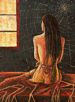 Spider Woman by Andrew Hobson