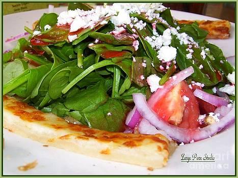 Spinach Salad by Zarya Parx  Studio