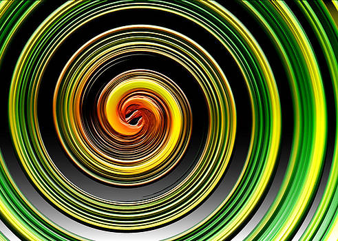 Spiral Abstract by Lawrence Ott