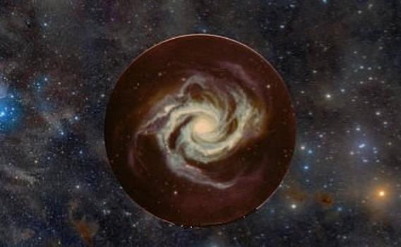 Spiral Galaxy by Aura Petersen