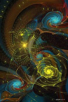 Spiral Galaxy by Lynda K Cole-Smith