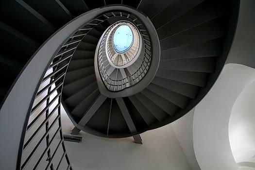 Spiral Steps by Arie Arik Chen